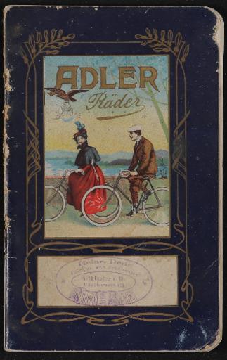 Adler Prospekt 1904
