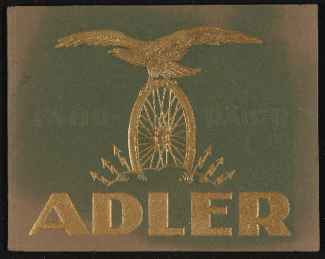 Adler Prospekt 1926