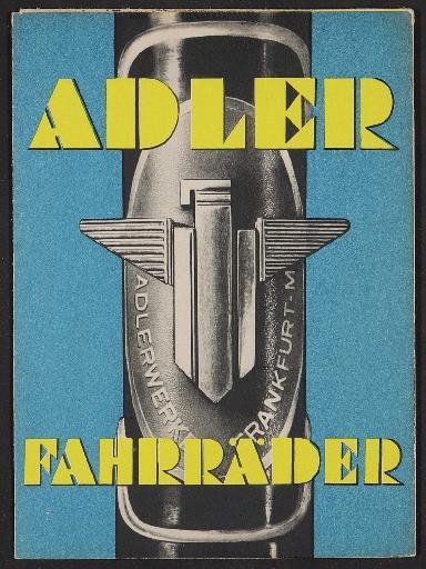 Adler, Faltblatt 1937