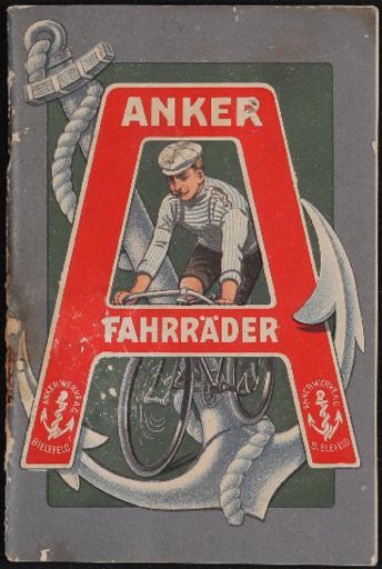 Anker Fahrräder Kat. 1910