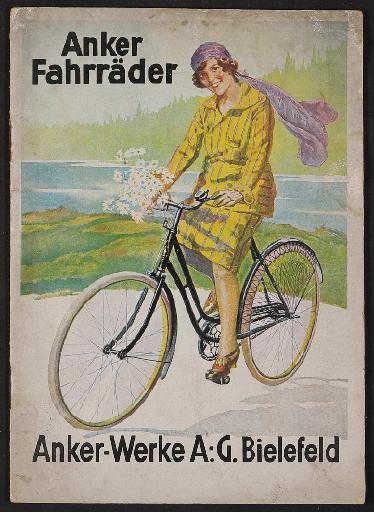 Anker Fahrräder Katalog 1927