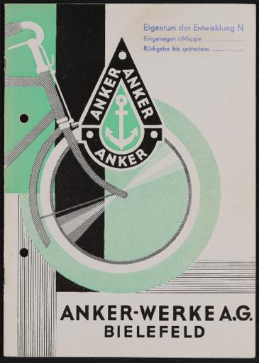 Anker Katalog 1929