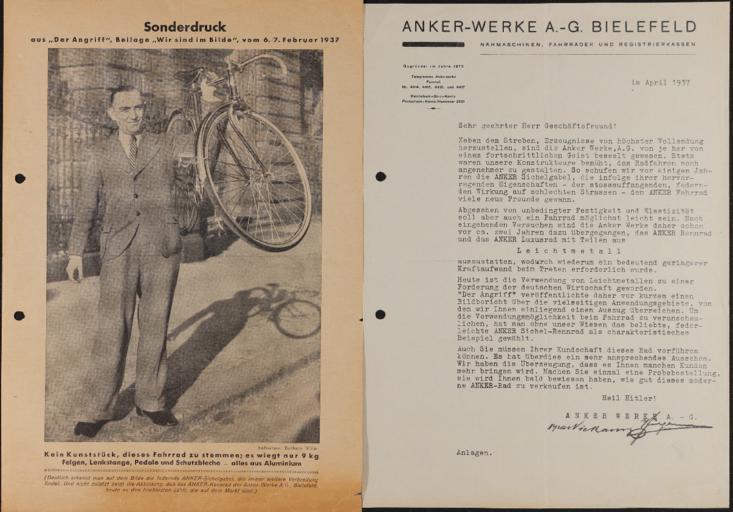Anker Sonderdruck 6.2.1937