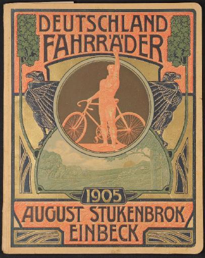 Deutschland Fahrräder August Stukenbrok Einbeck Katalog 1905