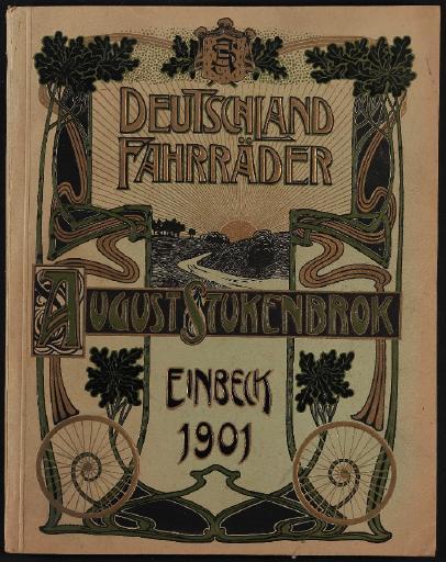 Deutschland Fahrräder August Stukenbrok Katalog 1901