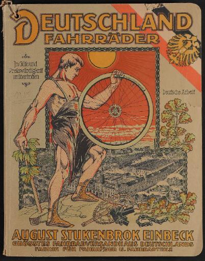 Deutschland Fahrräder August Stukenbrok Katalog 1915