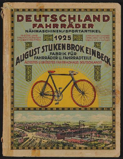 Deutschland Fahrräder, August Stukenbrok Katalog 1925