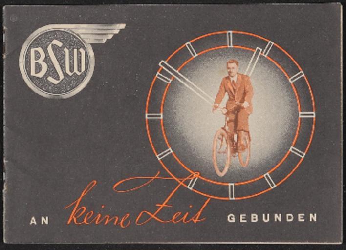 BSW Berlin-Suhler Waffen- und Fahrzeugwerke Katalog 1930er Jahre