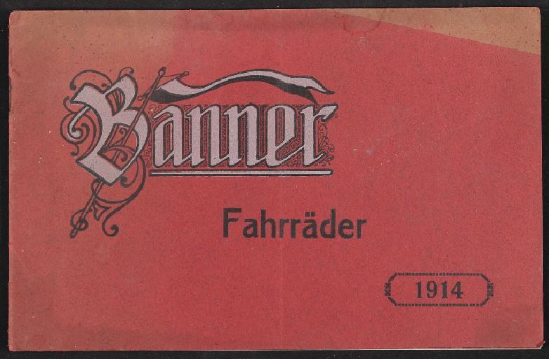 Banner Fahrräder, Katalog, 1914