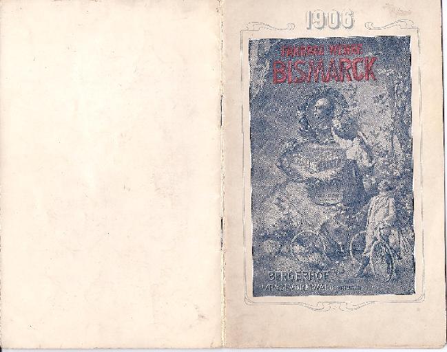 Bismarck Katalog 1906