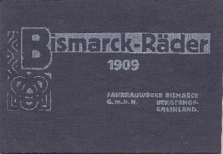 Bismarck Katalog 1909