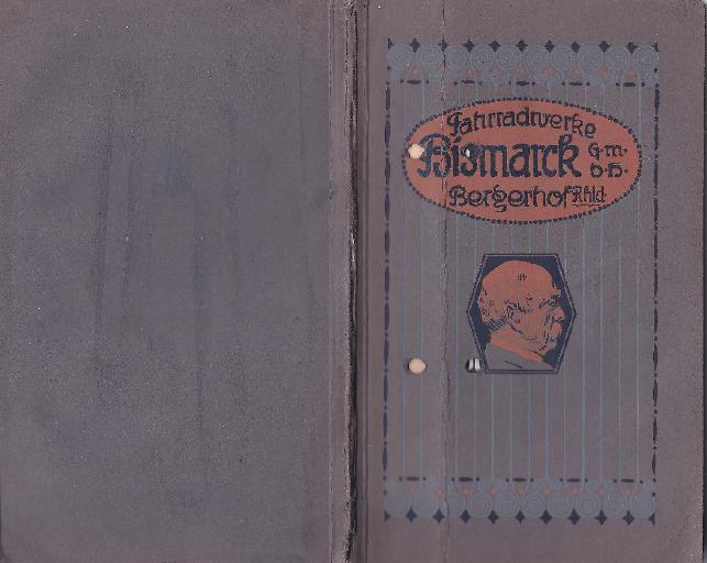 Bismarck Katalog 1912