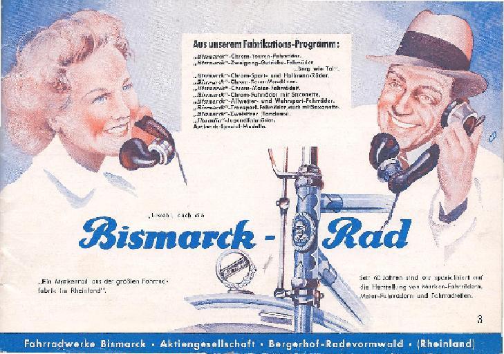 Bismarck Katalog 1938