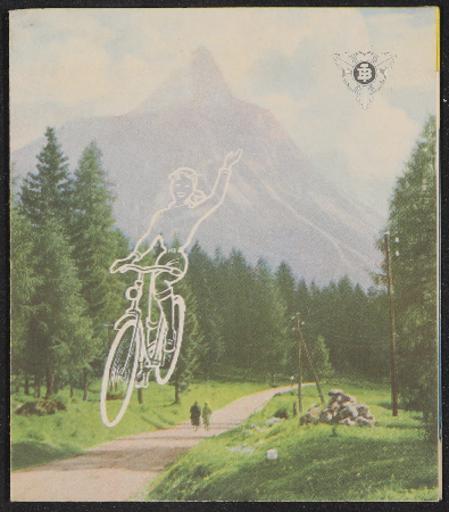 Bismarck-Rad Faltblatt 1950er Jahre
