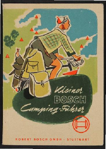 Bosch Radlicht Campingführer 1954