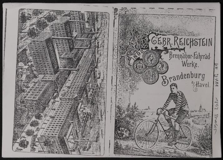 Brennabor Gebr. Reichstein Werke Katalog 1893