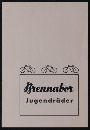 Brennabor Jugendräder 1930er Jahre