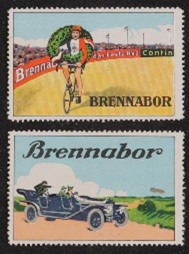 Brennabor Klebemarke  1920er Jahre