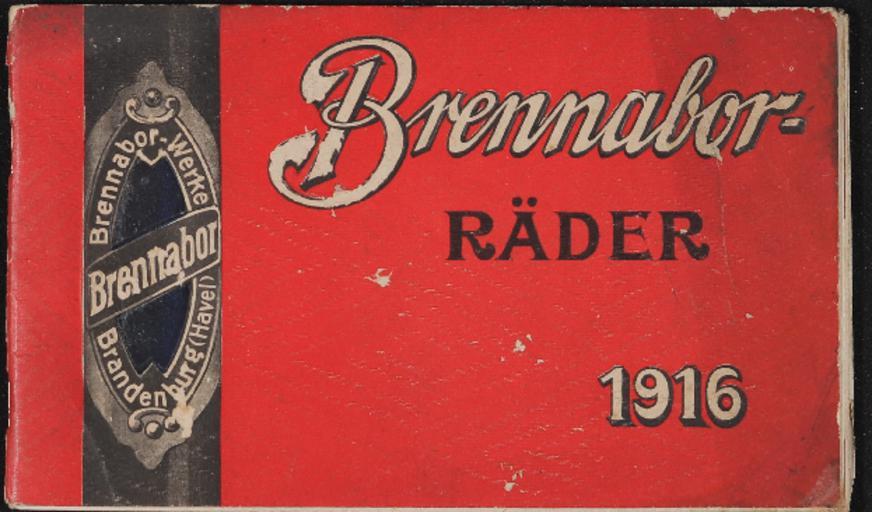 Brennabor Räder Katalog 1916