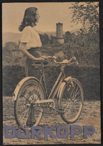 Dürkopp Prospekt 1940er Jahre