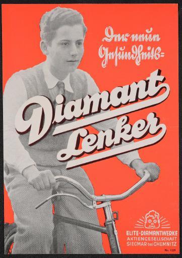 Diamant Der neue Gesundheitslenker Werbeblatt 30er Jahre
