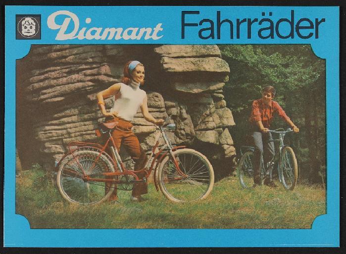 Diamant Fahrräder Faltblätter 1968