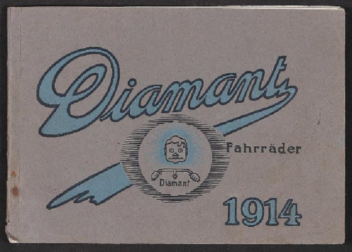 Diamant Fahrräder Katalog 1914