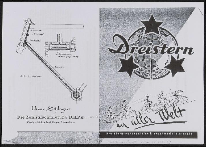 Dreistern Zentralschmierung Patent 1951