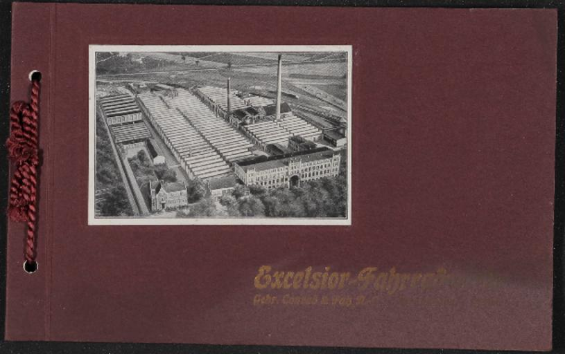 Excelsior Fahrrad-Werke  Katalog 1920er Jahre