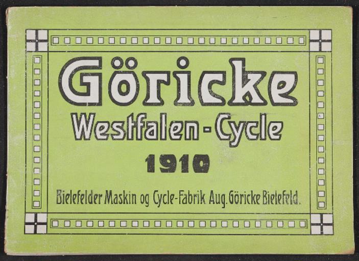 Göricke Katalog für Dänemark 1910