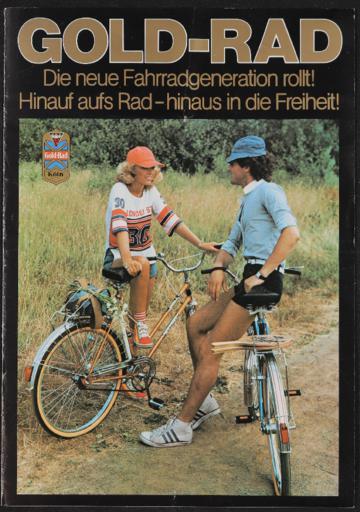 Gold-Rad Faltblatt 1980er Jahre