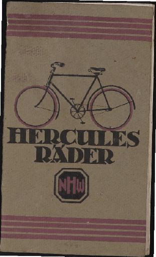 Hercules Katalog 1920er Jahre (2)