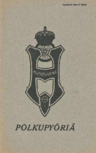Husqvarna Luettelo No C1540 1926