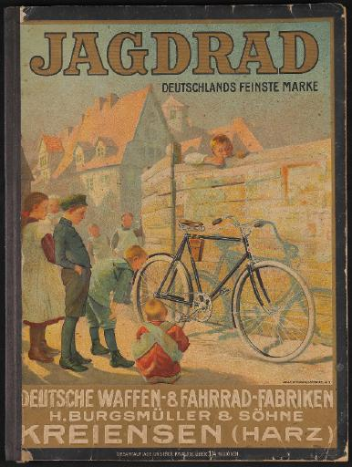 Jagdrad Katalog 1910