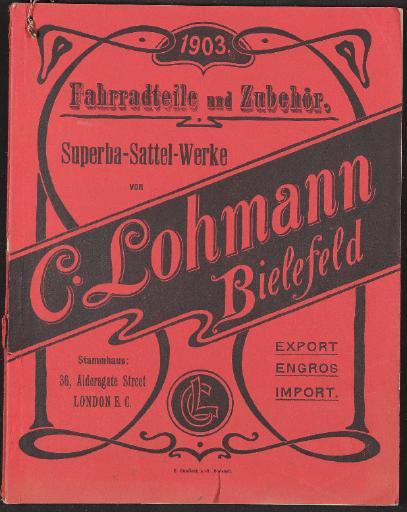 C. Lohmann, Katalog 1903