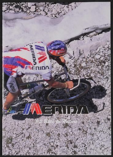 Merida, Merida Industry Co., Ltd. Taiwan, Katalog 1995