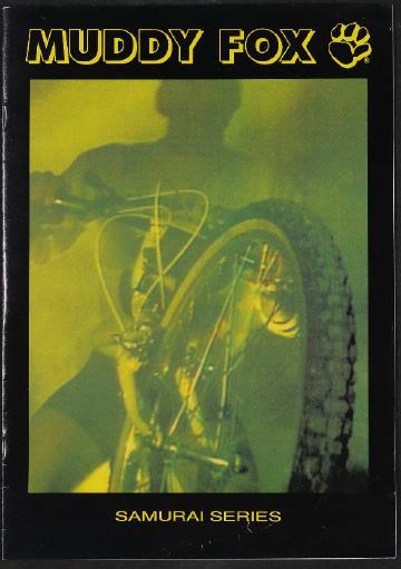 Muddy Fox Mountainbikes Katalog 1980er Jahre