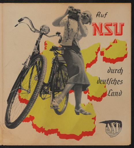 NSU Auf NSU durch deutsches Land Prospekt 30er Jahre