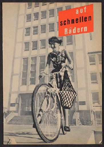 NSU So entsteht ein Fahhrad Heft 1950er Jahre