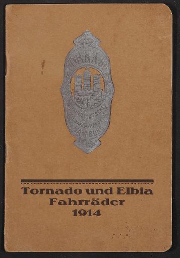 Tornado und Elbia Fahrräder, Katalog 1914
