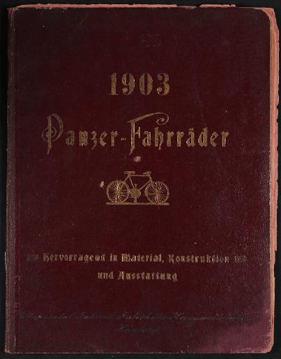 Panzer-Fahrräder, Continental Fahrrad-Fabrik, Katalog, 1903