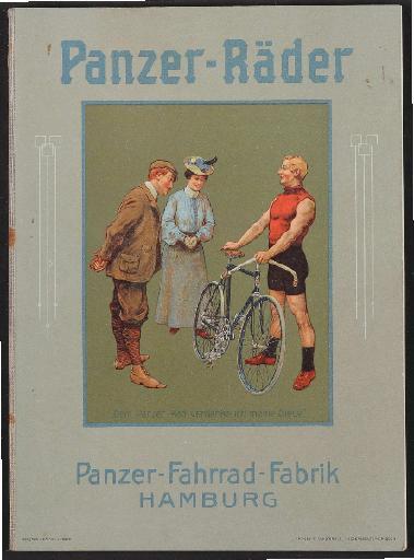 Panzer-Räder, Katalog 1907-08