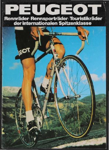Peugeot Katalog 1981