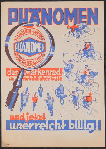 Phänomen  Werbeblatt 1930er Jahre