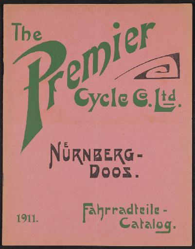 Premier Ersatz- und Zubehörteile Preisliste 1911