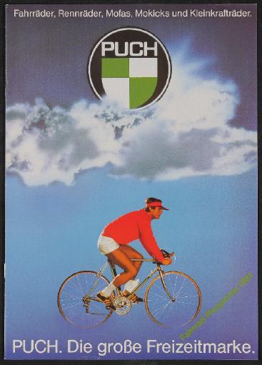 Puch, Steyr Daimler Puch, Fahrradprogramm Katalog 1981