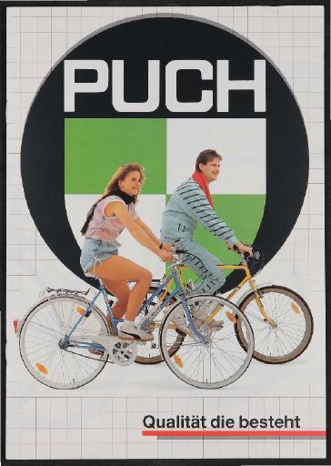 Puch, Steyr Daimler Puch, Katalog und Preisliste 1989