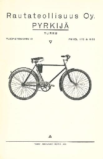 Pyrkijä Prospekt 1931