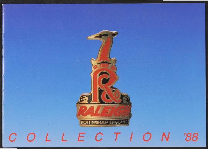 Raleigh, TI Raleigh Ltd Katalog 1988