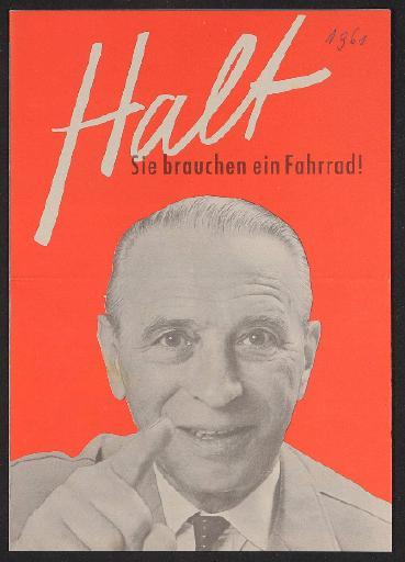 Stricker Stricker Faltblatt 1961